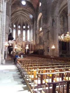 Beziers Cathedral Interior