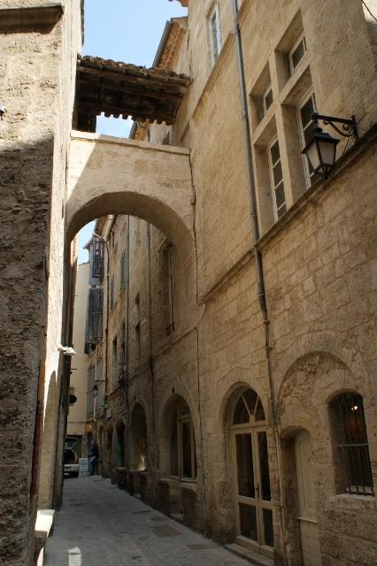 Pezenas Narrow Street